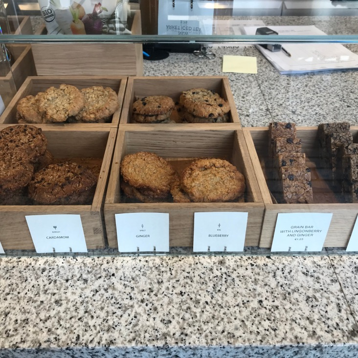 Oat cookies & bars