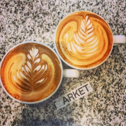 Cappuccinos/Flat whites