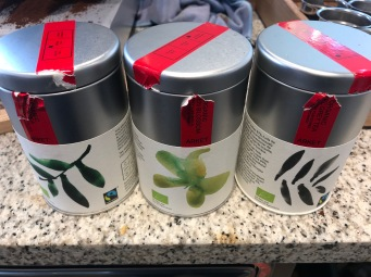 Organic Tea options